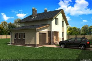 Готовый проект дома П3-131