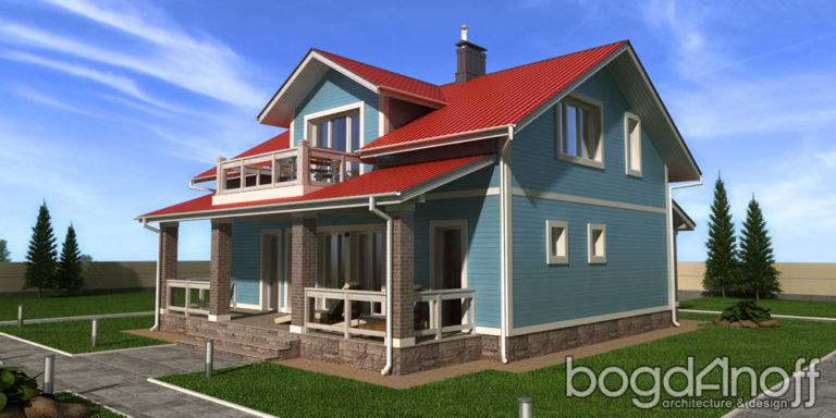 Готовый проект дома Силичи