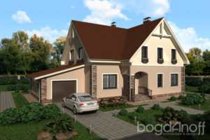 Готовый проект дома П1-21
