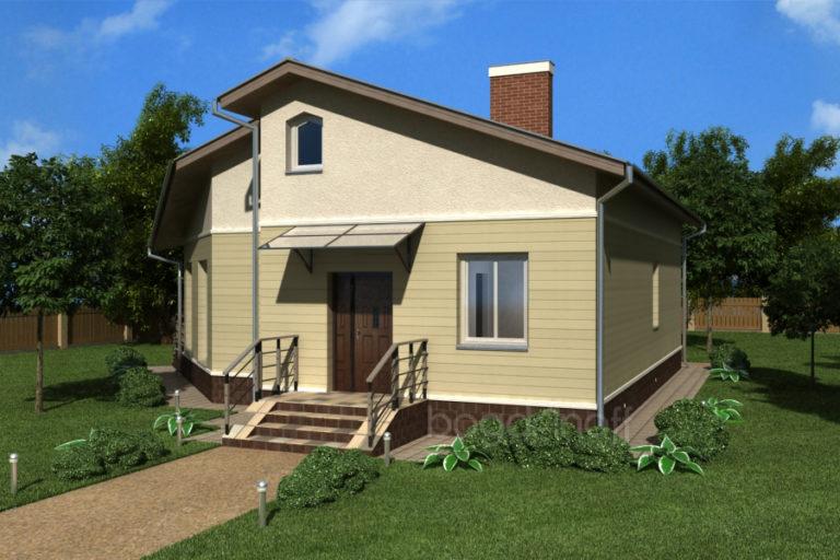 Готовый проект дома П1-41