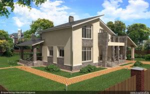 Готовый проект дома П10-1