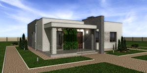 Готовый проект дома П11-6