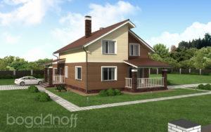 Готовый проект дома П13-1