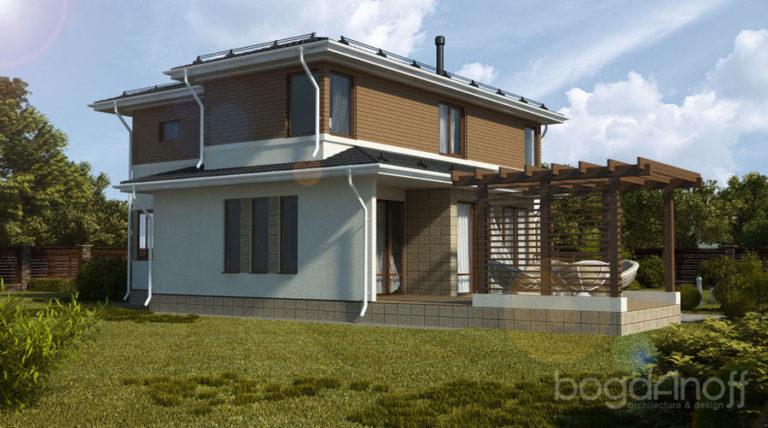 Готовый проект дома П16-1