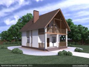 Готовый проект дома П2-12