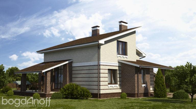Готовый проект дома П2-14