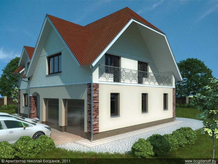 Готовый проект дома П2-5