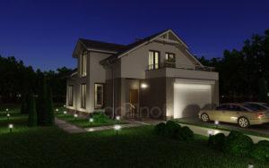 Готовый проект дома П20-12