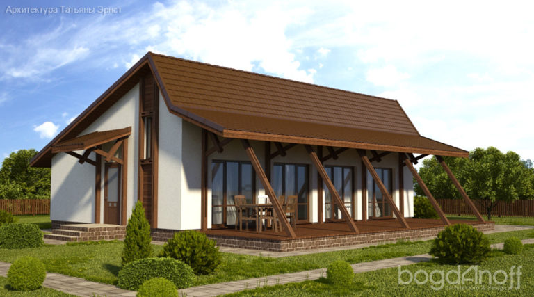 Готовый проект дома П22-12