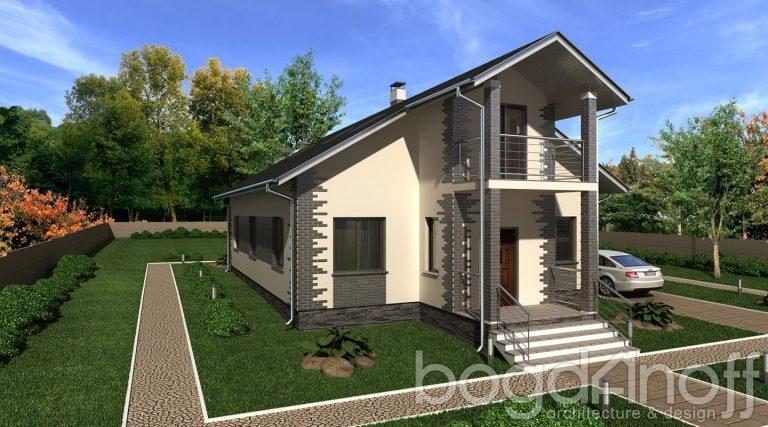 Готовый проект дома П25-1