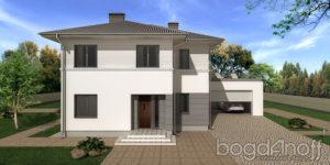 Готовый проект дома П27-2