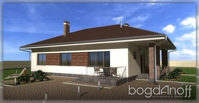 Готовый проект дома П28-1