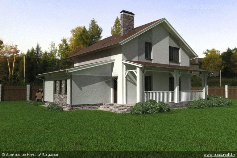 Готовый проект дома П3-13