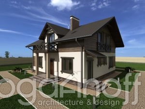 Готовый проект дома П30-1