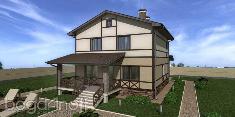 Готовый проект дома П31-1