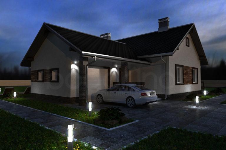 Готовый проект дома П4-5