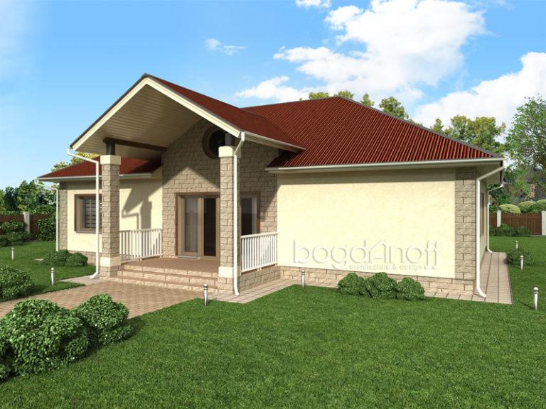 Готовый проект дома П4-1