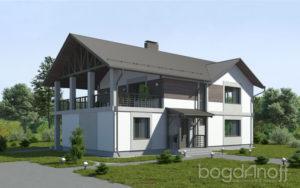 Готовый проект дома П5-1