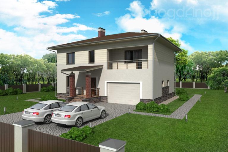 Готовый проект дома П6-1