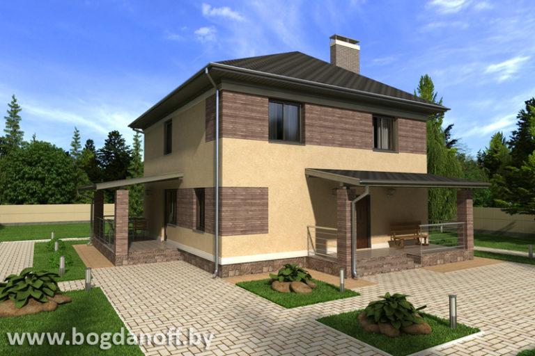 Готовый проект дома П6-3