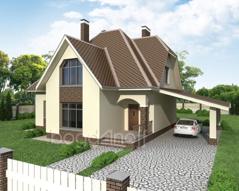 Готовый проект дома П7-1