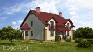 Готовый проект дома П7-41