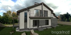 Готовый проект дома П7-5