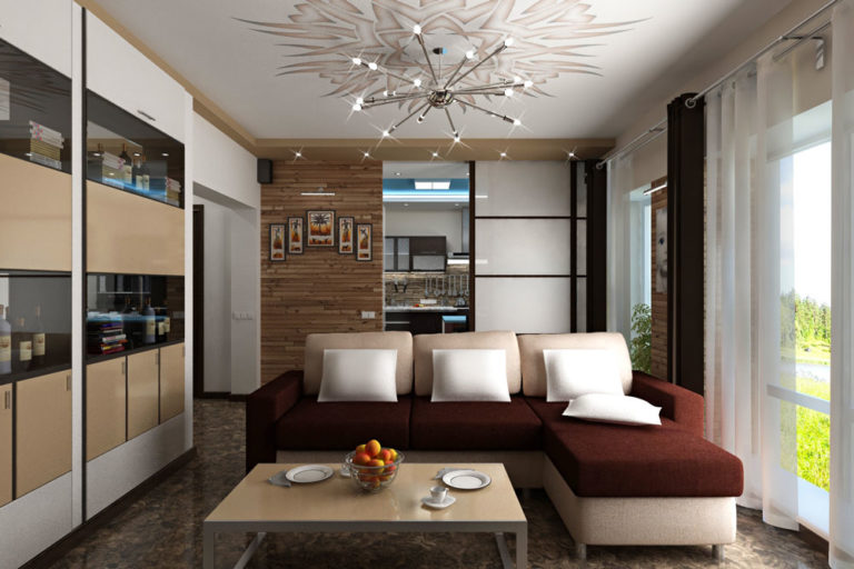 Дизайн интерьера дома в п. Сосновая