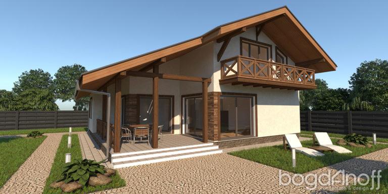 Готовый проект дома П9-22