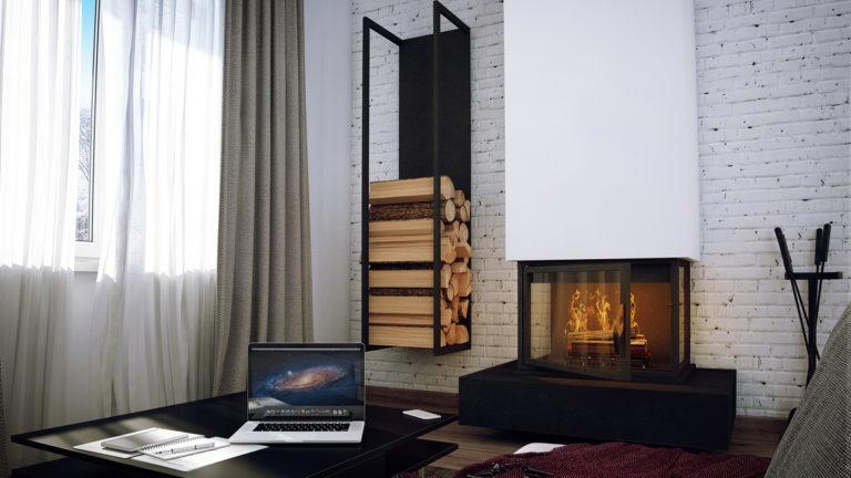 Дизайн интерьера дома в д. Вишнёвка