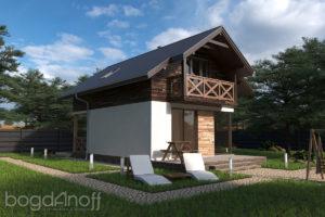 Готовый проект дома П1-1