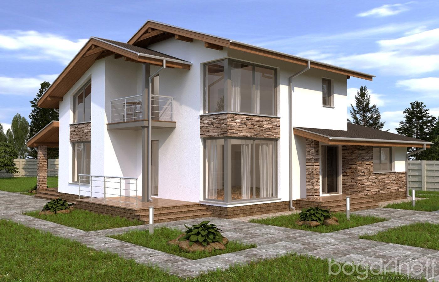 Готовый проект дома П5-4