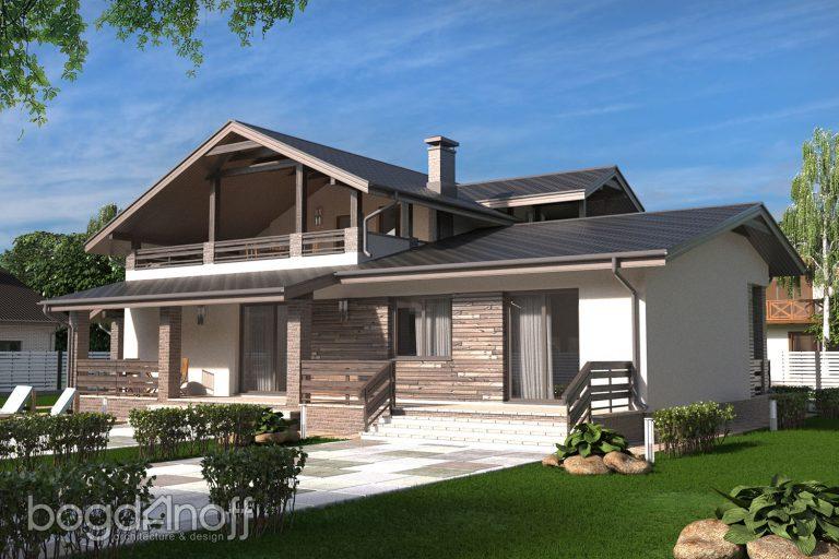 Готовый проект дома П5-5
