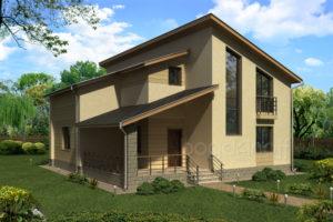 Готовый проект дома П3-61