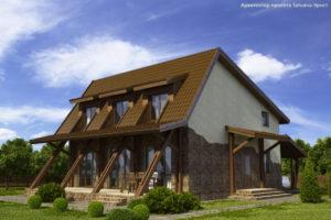 Готовый проект дома П22-1