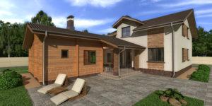 Готовый проект дома Novosib
