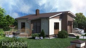 Готовый проект дома П1-42