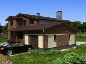 Готовый проект дома П12-1