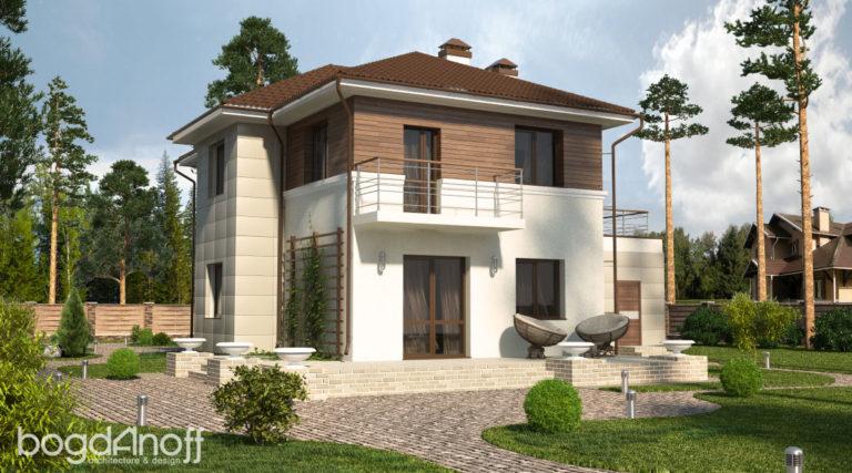 Готовый проект дома П15-1