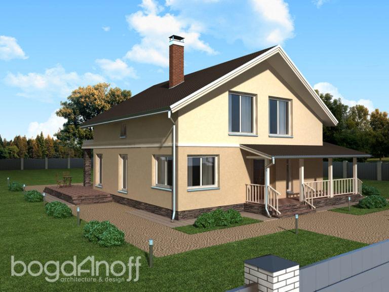 Готовый проект дома П18-1