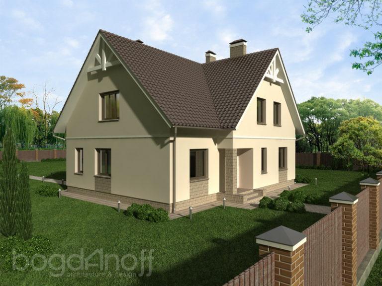 Готовый проект дома П2-31