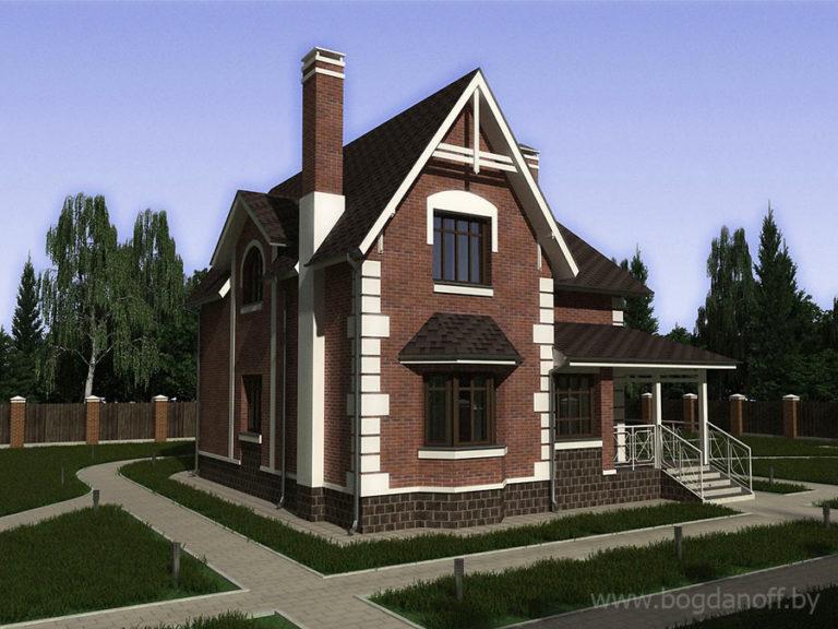 Готовый проект дома П21-12
