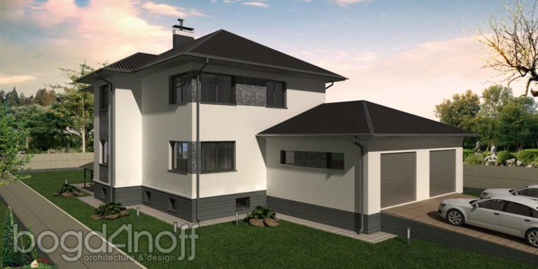 Готовый проект дома П27-1