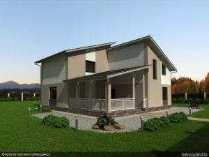 Готовый проект дома П3-6