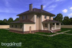 Готовый проект дома П4-14