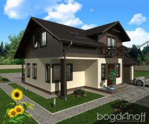 Готовый проект дома П8-2