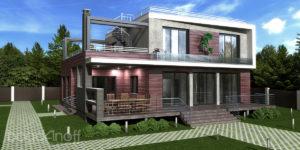 Готовый проект дома Unifox