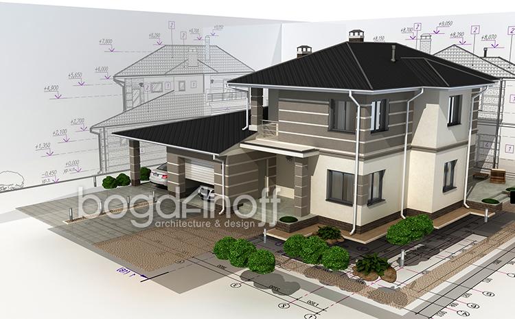 Дом в 3D