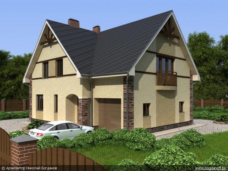 Готовый проект дома П2-3