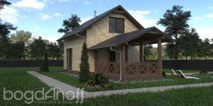 Готовый проект дома П1-12